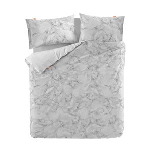 Bavlnená obliečka na paplón Blanc Essence Marble, 220×220 cm