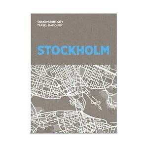 Mapa na poznámky Palomar Transparent City Stockholm