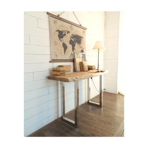 Odkladací stolík z akáciového dreva Orchidea Milano Consolle Russell