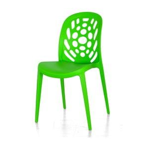 Stolička Allegra, zelená