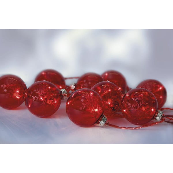 Svietiaca reťaz Best Season Beads Red