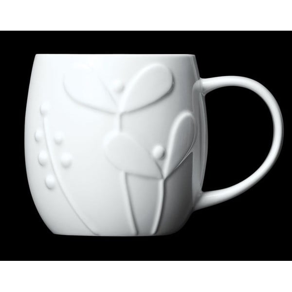 Hrnček z kostného porcelánu Plum Seedling