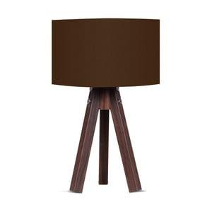 Stolová lampa s hnedým tienidlom Kate Louise Kahve