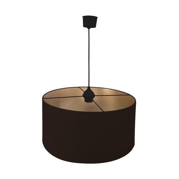 Závesné svietidlo Gold Inside One Brown