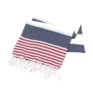 Hammam osuška American Stripes Sailor, 100 x 180 cm