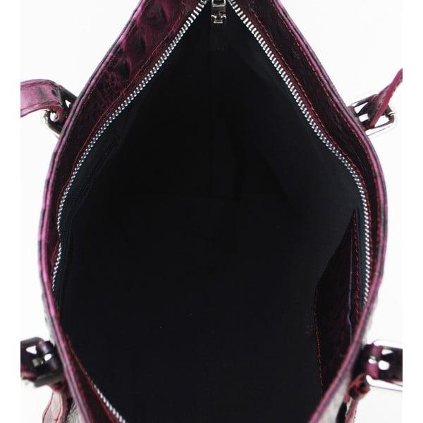 Kožená kabelka Vaso Alta Rosso