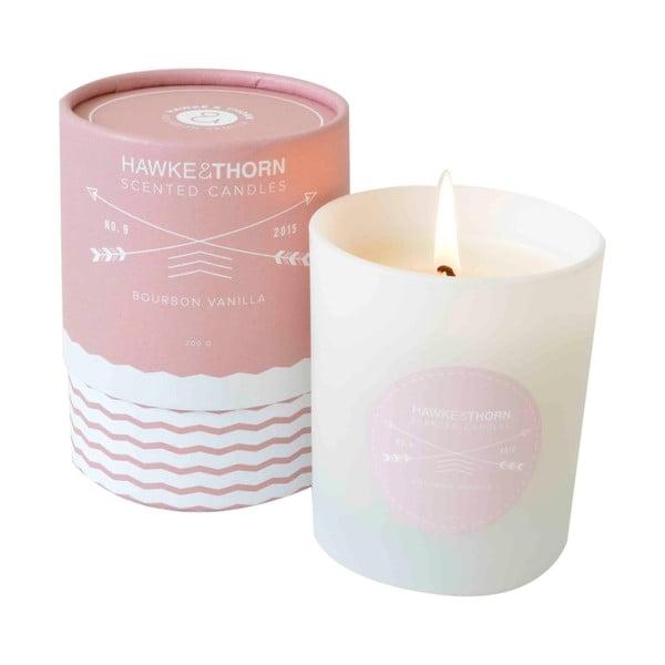 Vonná sviečka s vôňou bourbonskej vanilky Hawke&Thorn