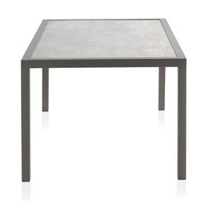 Záhradný stôl s keramickou doskou Geese Francesca, 100 × 160 cm