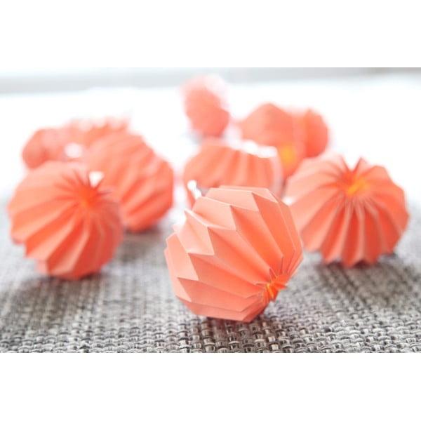 Osvetlenie Paper Flowers Peach
