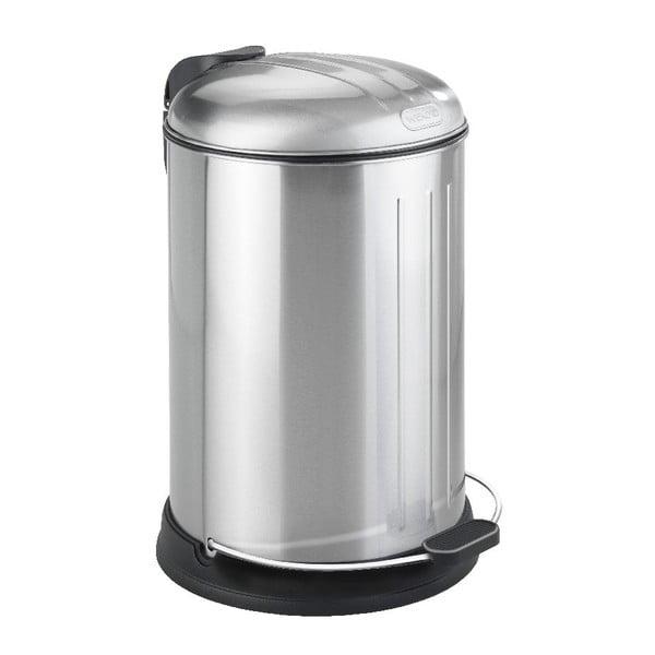 Chrómový odpadkový kôš Wenko Lagun, 12 l