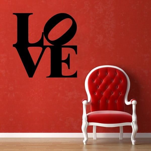 Samolepka na stenu Love