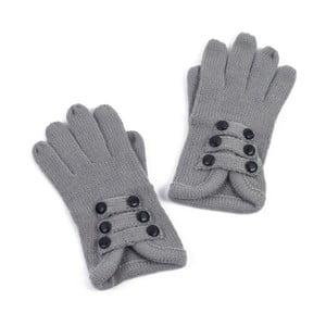 Sivé dámske rukavice Art of Polo Pamela