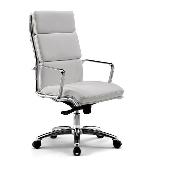 Kancelárska stolička na kolieskach Chrono Zago, sivobiela