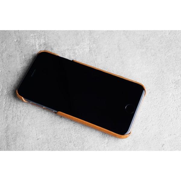 Peňaženkový case Mujjo na telefón iPhone 6 Tan
