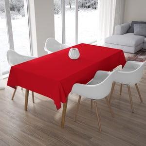 Červený obrus, 140×180 cm