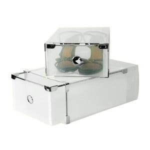 Set 2 boxov na topánky Jocca Plastic Boxes, 31×20 cm