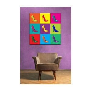 Obraz Pop Art Heels, 50 x 50 cm