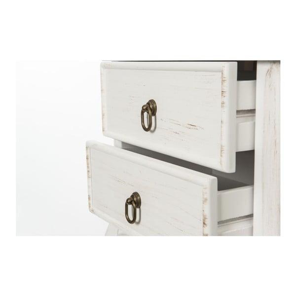Odkladací stolík Patine Vintage, 46x33x70 cm