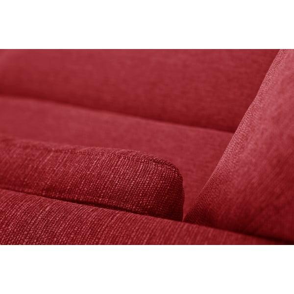 Sada dvoch pohoviek pre dvoch a pre troch  Elisa, červená