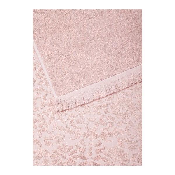 Set 2 uterákov Riad Face Rose, 50x90 cm