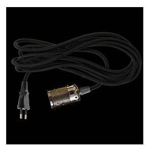 Textilný kábel ku svetlu Dan Lamp Black, 3 metre