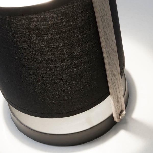 Čierna stolová lampa La Forma Zayla