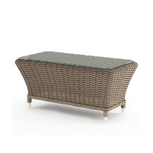 Béžový záhradný stolík Oltre Leonardo