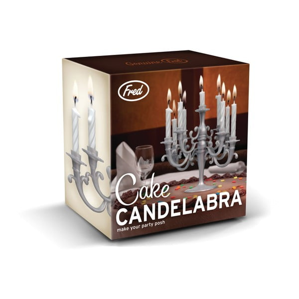 Svietnik na tortové sviečky Fred & Friends Cake Candelabra