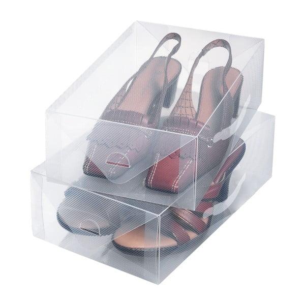 Sada 2 malých boxov na obuv Ordinett