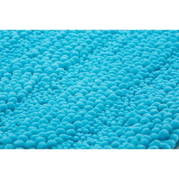 Kúpeľňová predložka Surface Turquoise, 65x110 cm