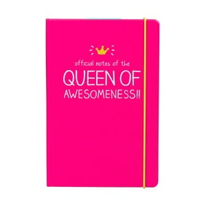 Zápisník Happy Jackson Queen, A5
