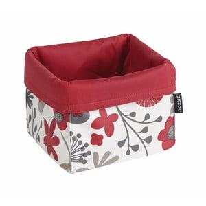 Bielo-červený košík na pečivo ZicZac Floral