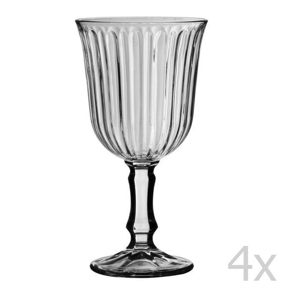 Set 4 pohárov Stemmed, 240 ml