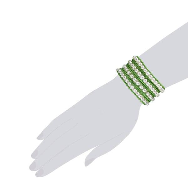 Náramok Evian, zelený