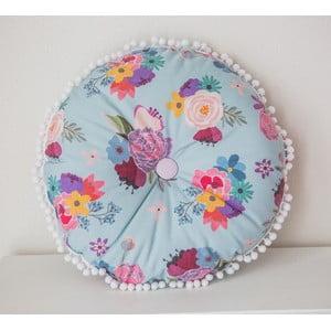 Vankúš s kvetinovou potlačou VIGVAM Design Bohemian Chic Flowers