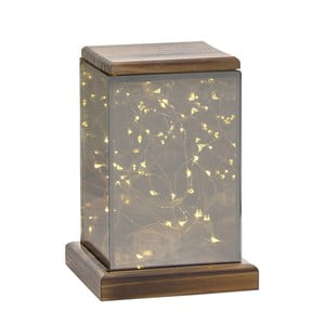 Lampáš s LED svetielkami Villa Collection Lantern, 17,5 cm