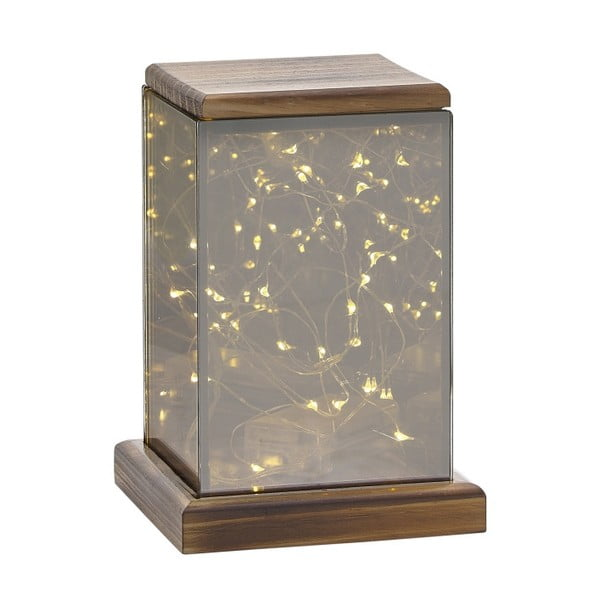 Lampáš s LED svetielkami Villa Collection Lantern, 17,5 cm