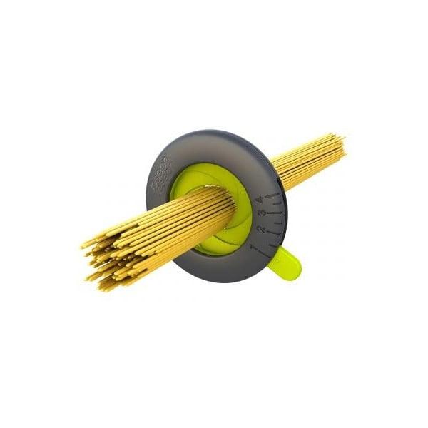 Sivo-zelená odmerka na špagety Joseph Joseph Spaghetti Measure