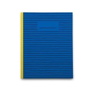 Zápisník Blue Paper, modrý