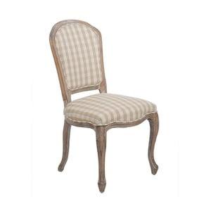 Stolička Checquers Beige, 50x50x96 cm