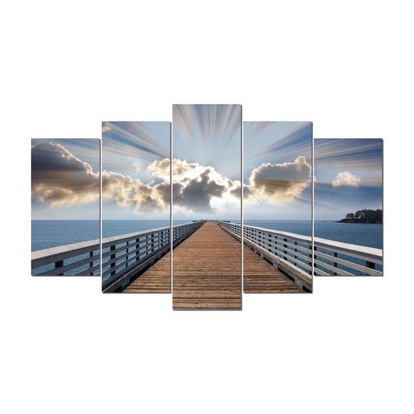5-dielny obraz Paradis, 60x100 cm