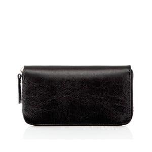 Čierna kožená peňaženka Glorious Black Oxy