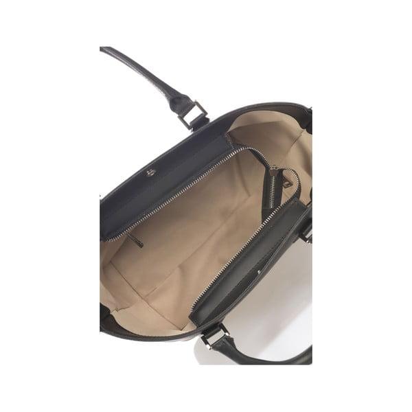 Kožená kabelka Krole Kayleen, čierna