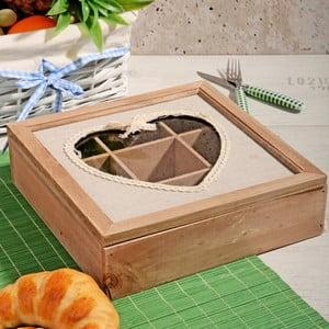 Bambusový box na čaj s 9 priehradkami Herbal
