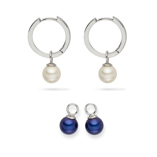 Sada 2 perlových náušníc Nova Pearls Copenhagen Didiane