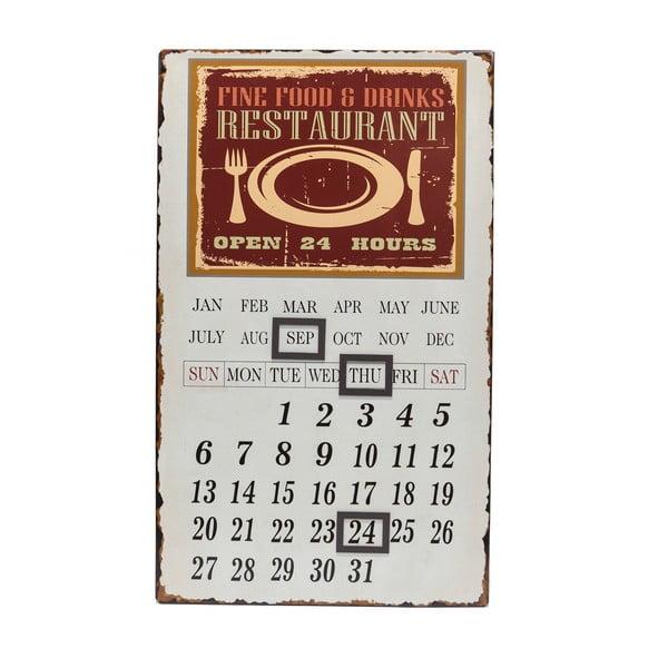 Kovový kalendár Calamita