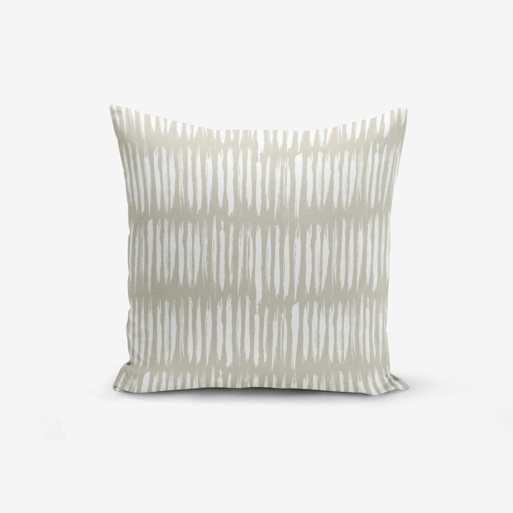 Obliečka na vankúš s prímesou bavlny Minimalist Cushion Covers Kahan, 45 × 45 cm