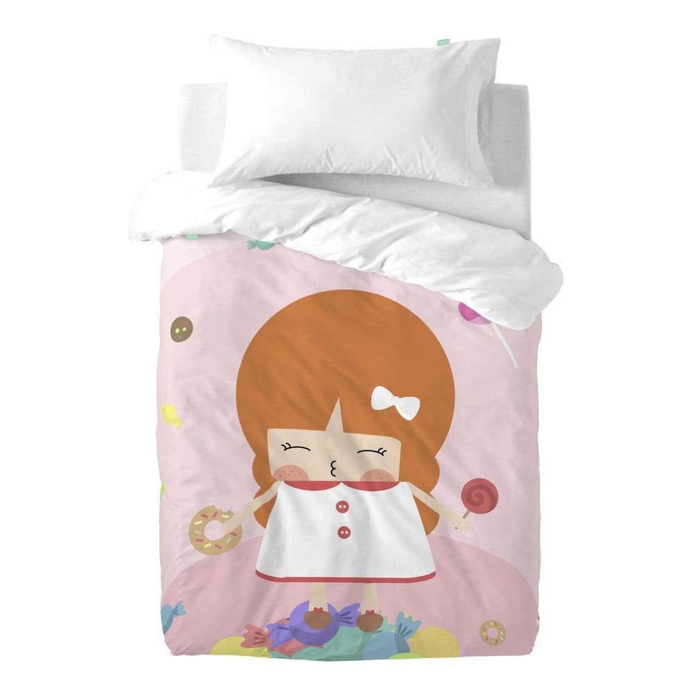 Obliečky z čistej bavlny Happynois Candies, 100 × 120 cm