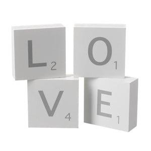 Dekorácia Heaven Sends Love Blocks