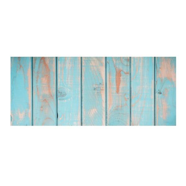 Koberec z vinylu Cocina Tablas Turquesa, 50x100 cm